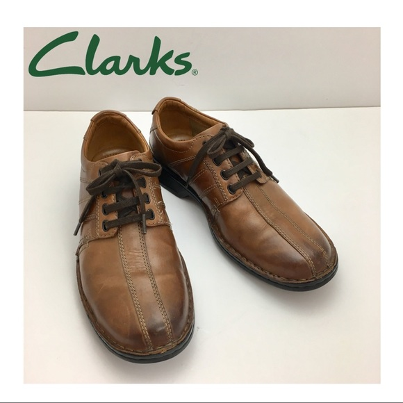 6d617bb9 Clarks Touareg Vibe Oxford Brown Leather Comforts